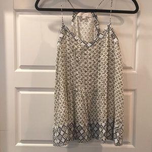 Loft sz M printed cami